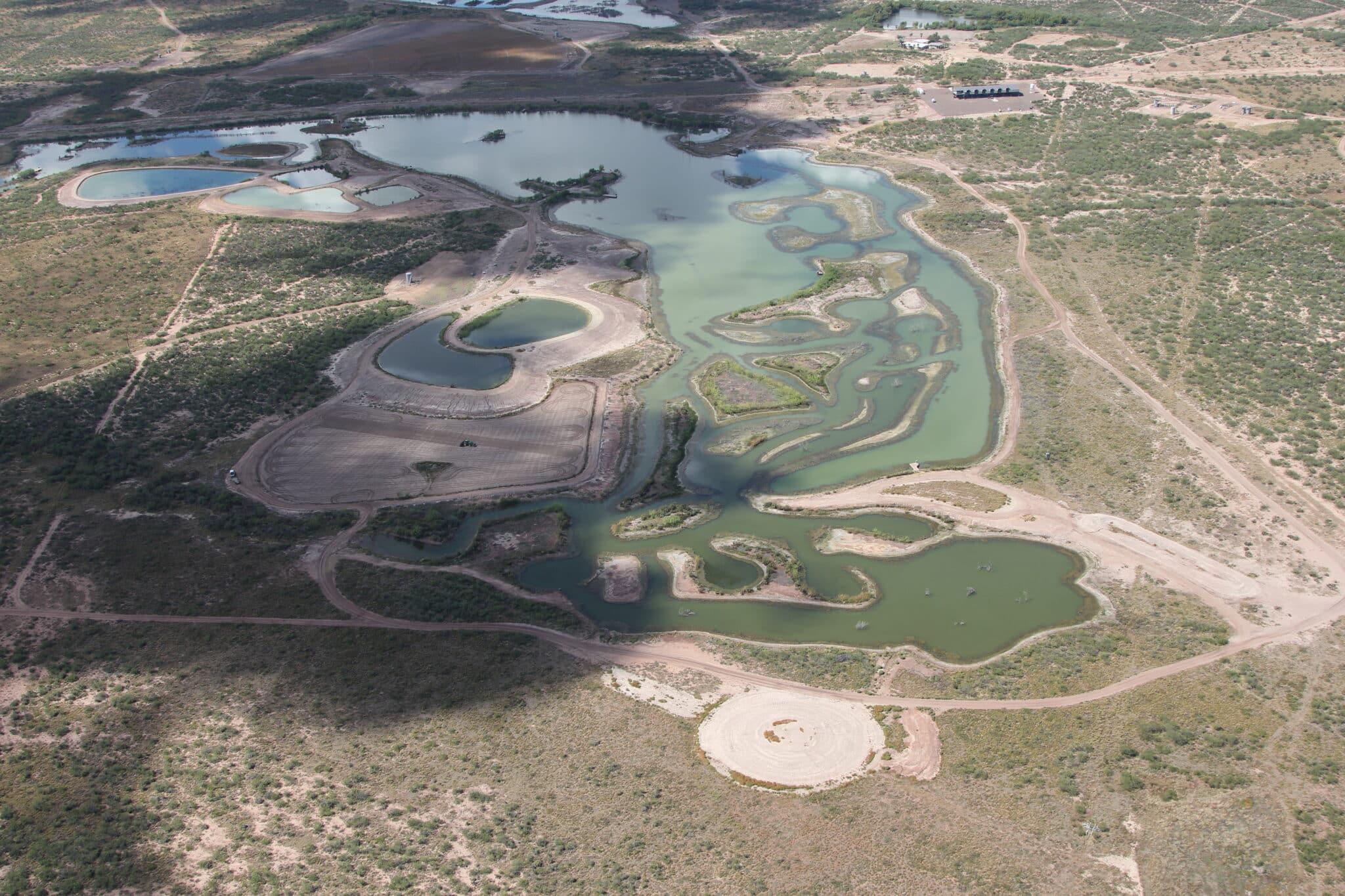La Perla Ranch world record bass lake