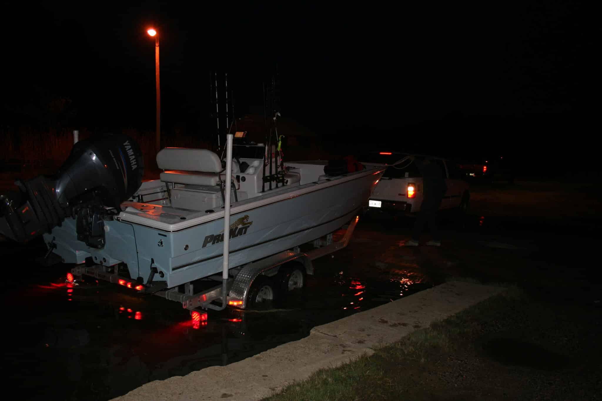 boating night