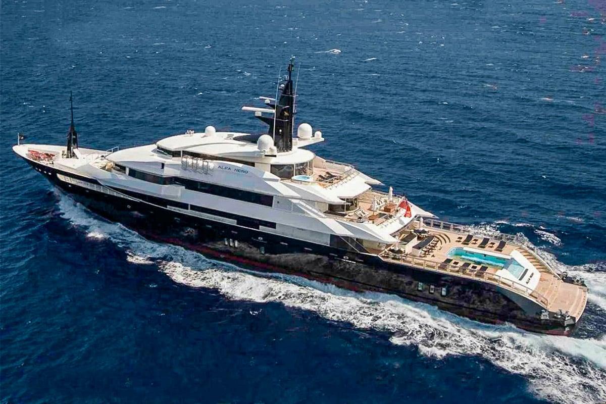 Steven Spielberg mega yacht