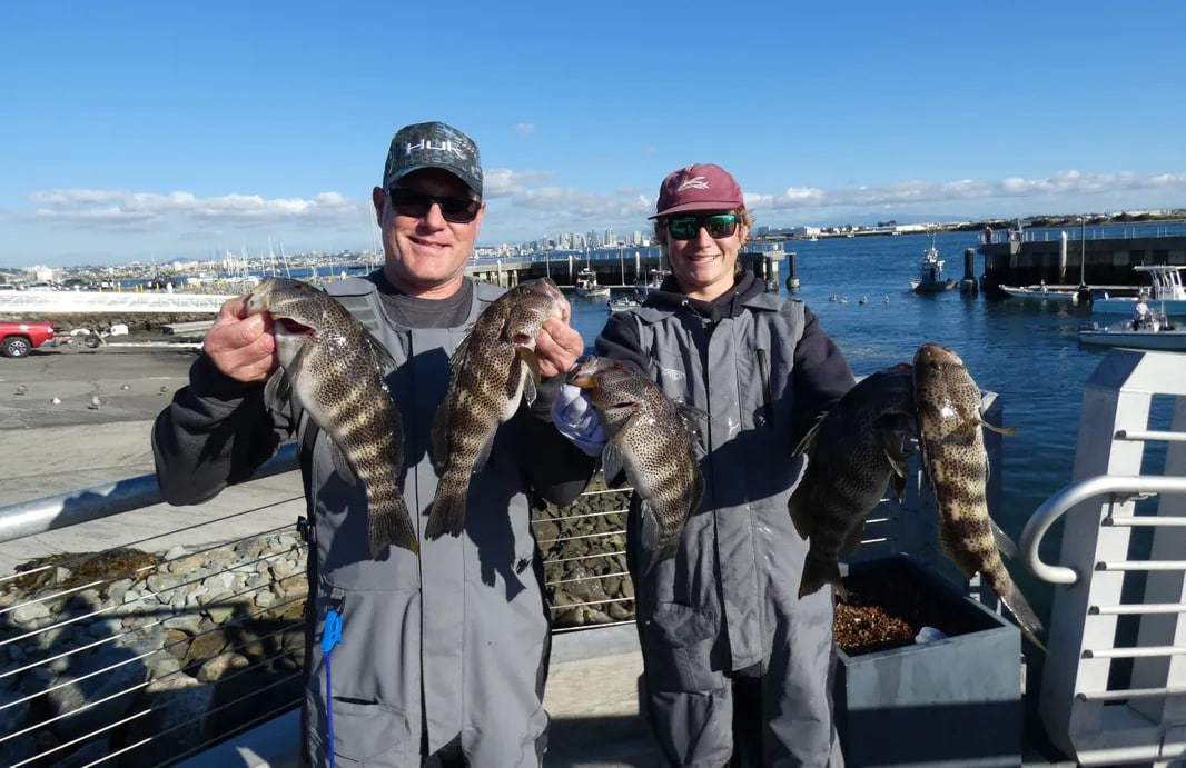 SoCal fishing winter reports