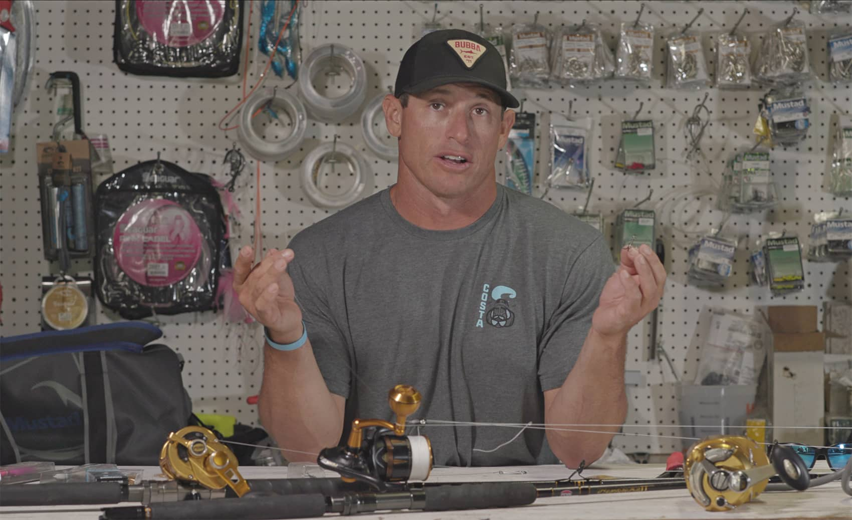 rigging a stinger rig