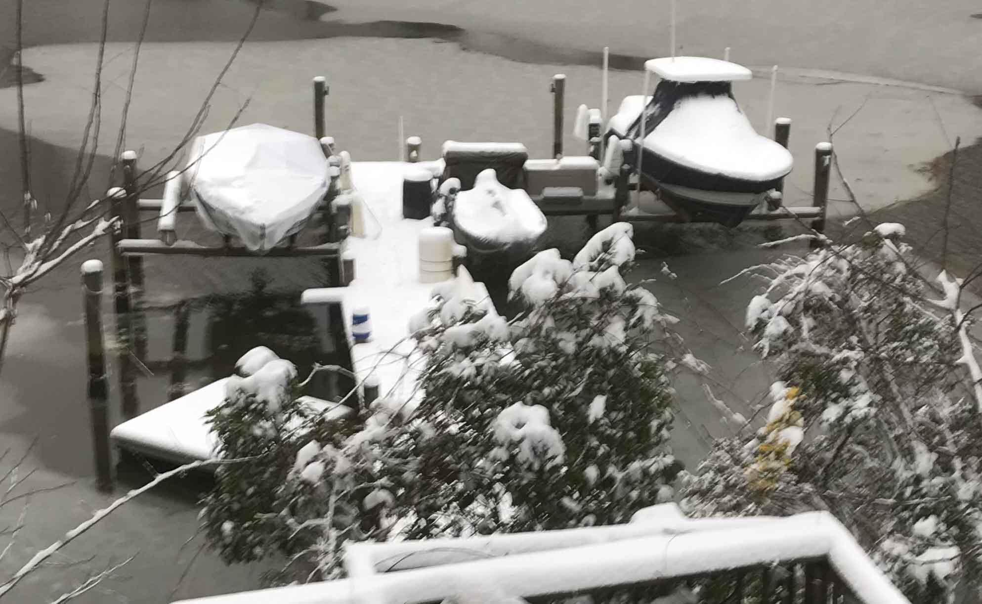 boat winterize