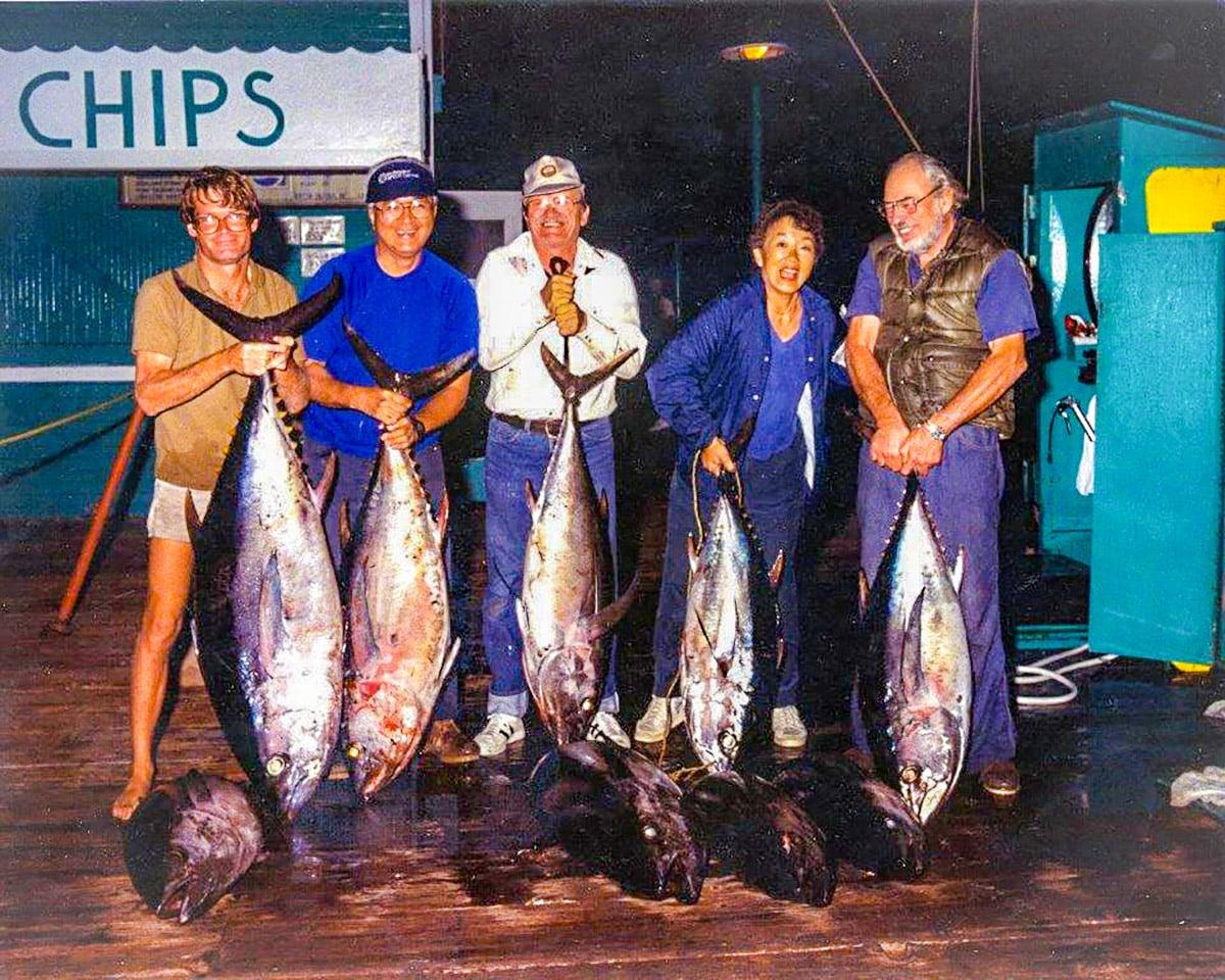 Bateman bigeye tuna