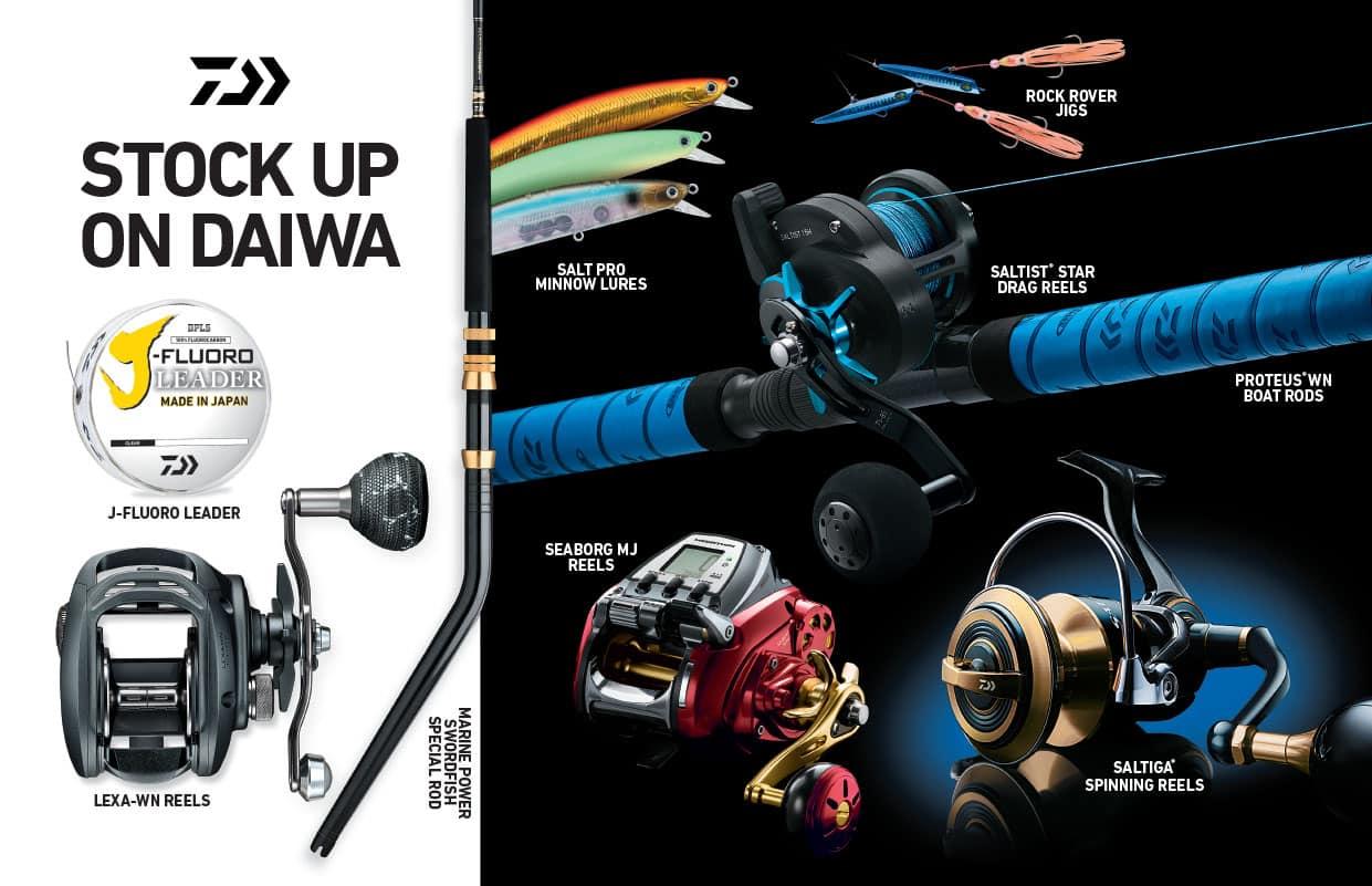 Daiwa Fishing Gear