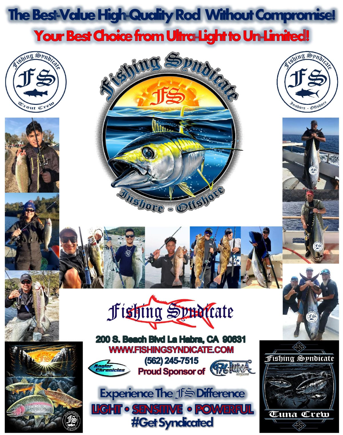 Fishing Syndicate rods