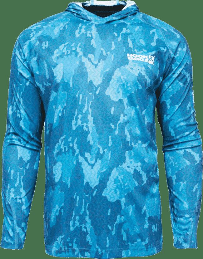 Printed Hoodie Hi-Performance Fishing Shirt