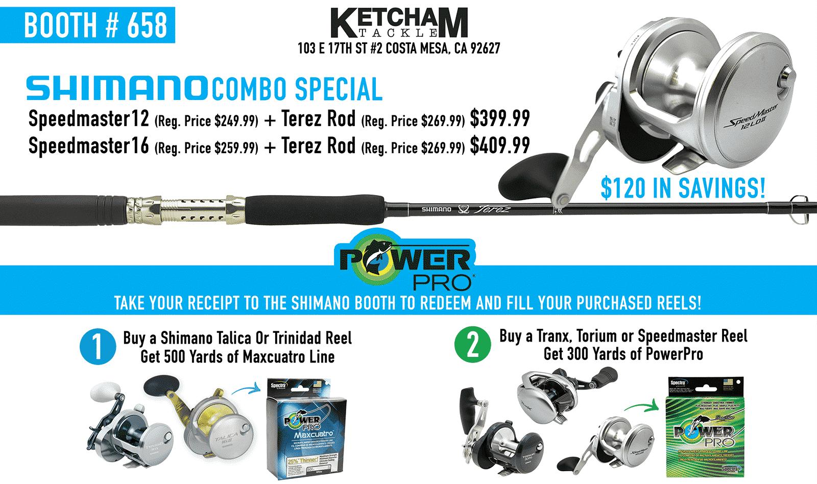 Ketcham Tackle Show Specials