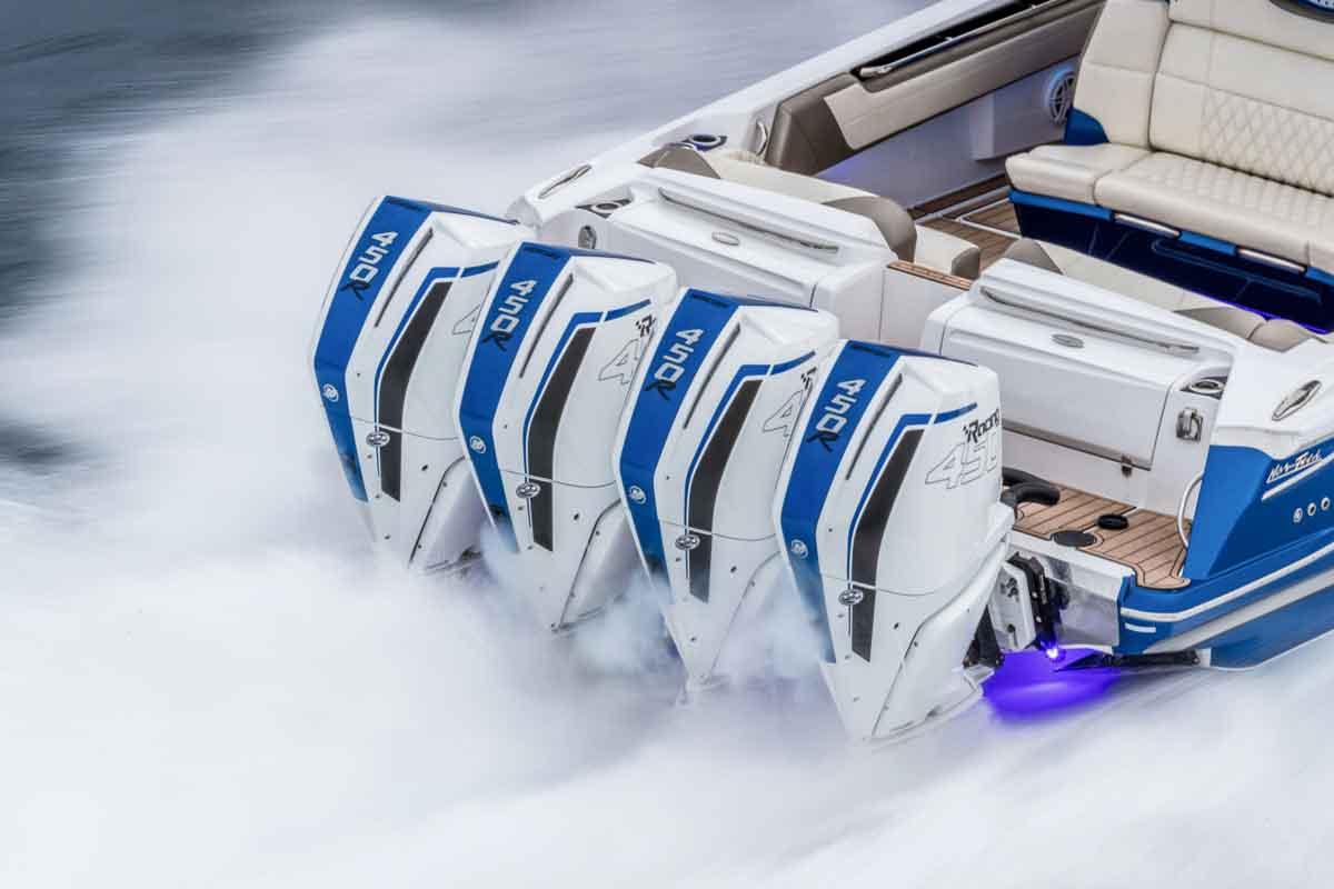 Mercury 450 outboard