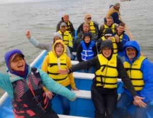 Baja Whale Spectators