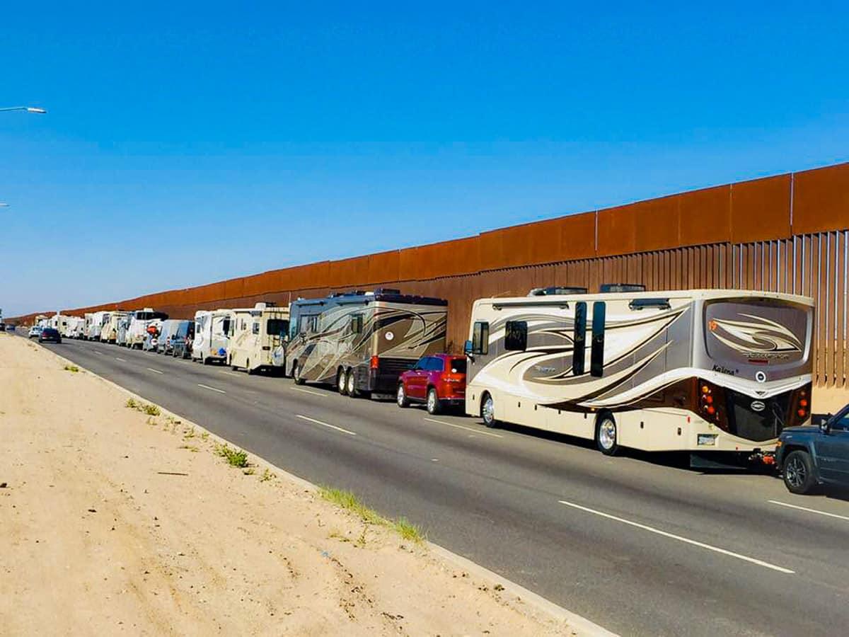 Baja RV Caravan