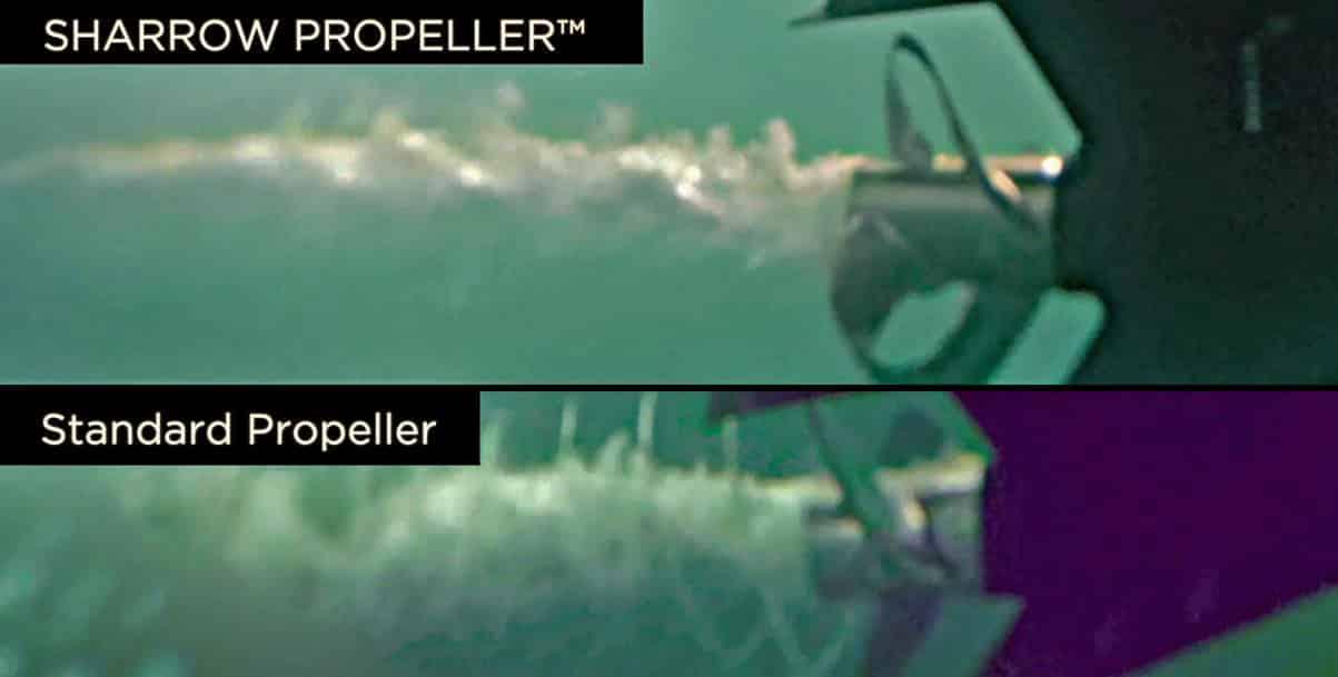 Sharrow propeller