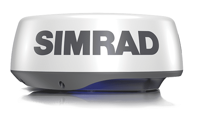 Simrad radar dome