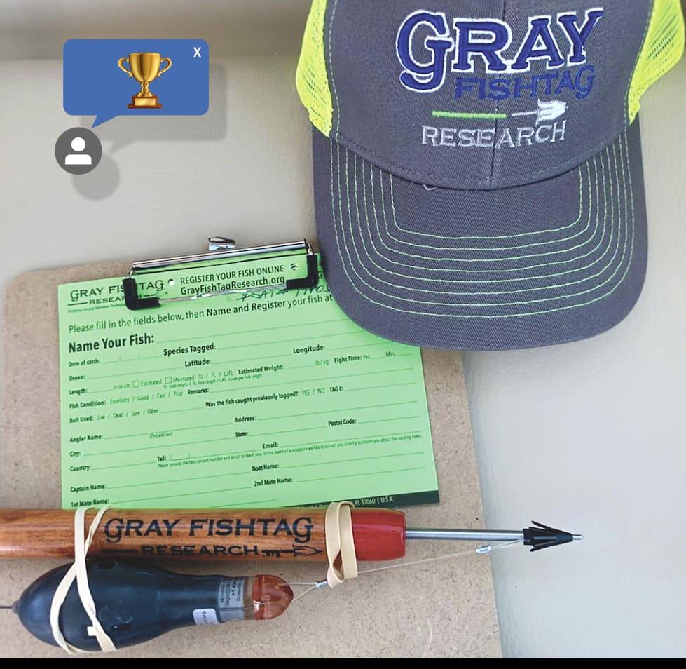 Gray Fishtag