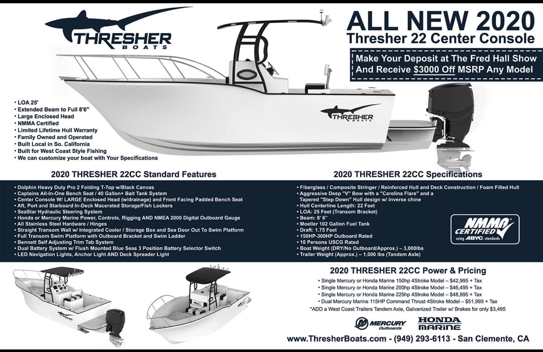 Thresher Boats