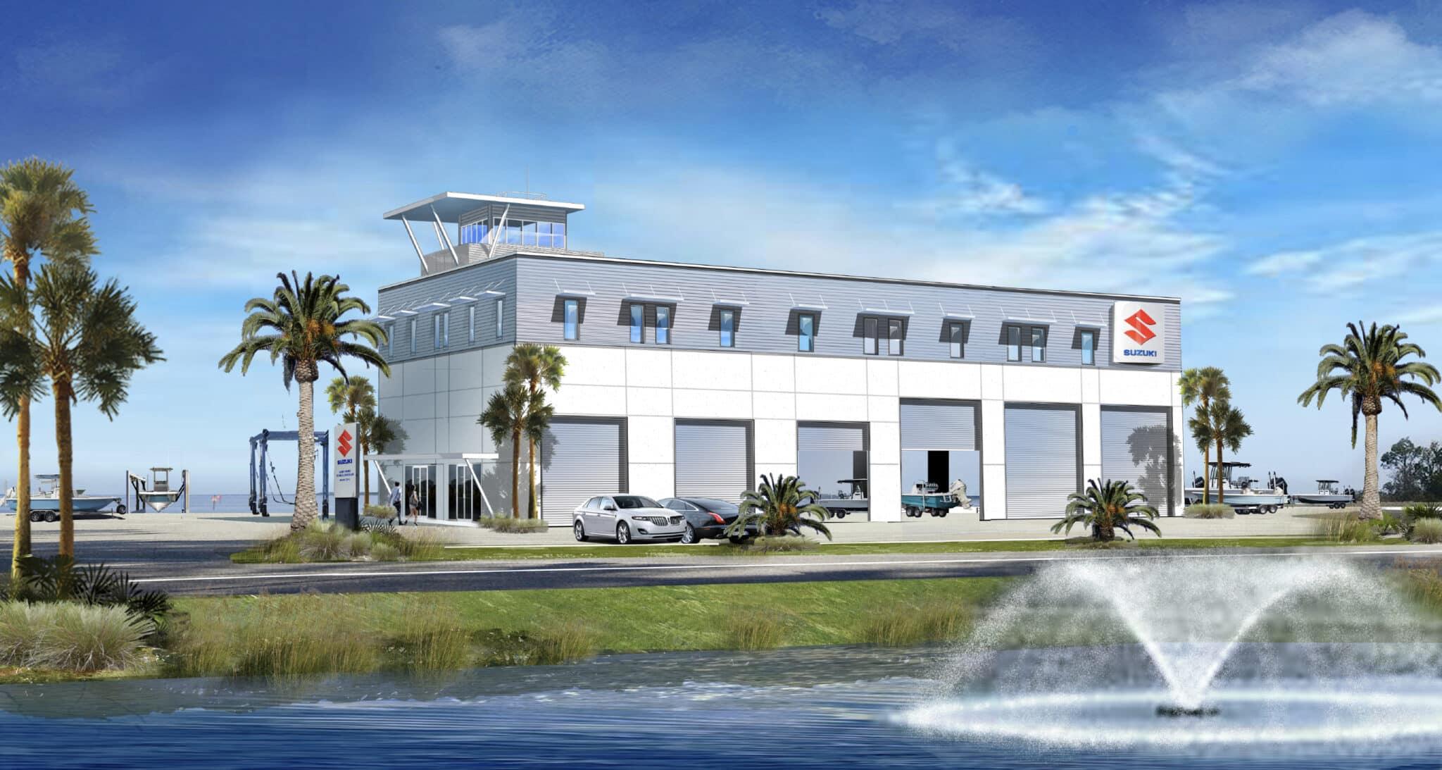 suzuki marine tech center