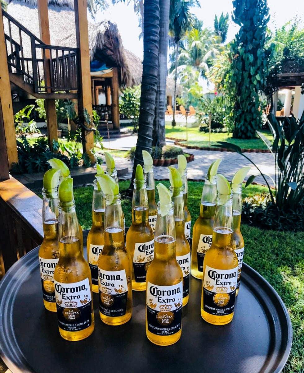 Baja Corona beer