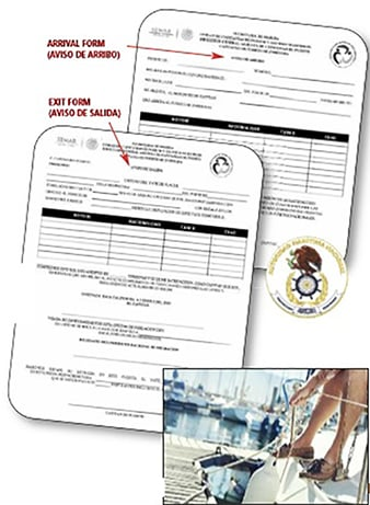 Mexico Travel Clearance form