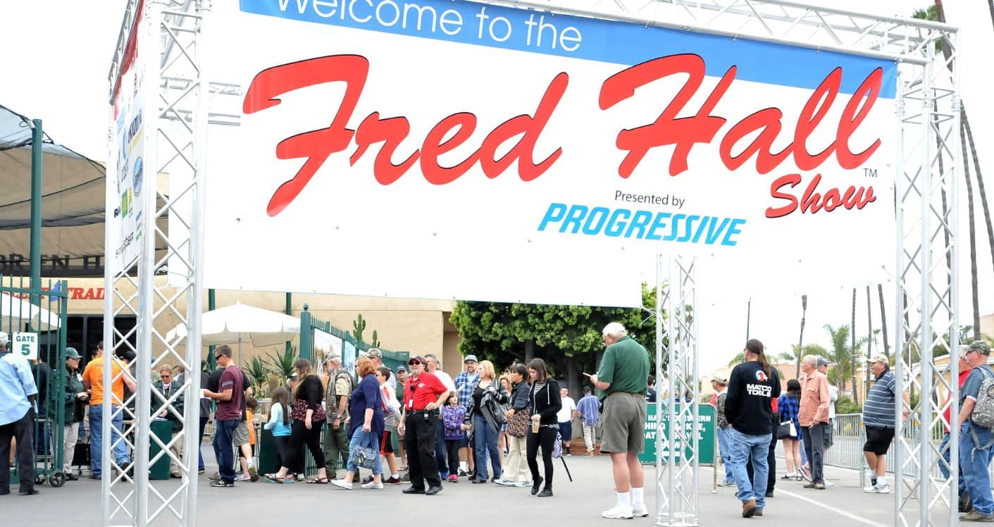Fred Hall dates