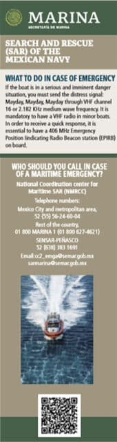 Mexico emergency numbers
