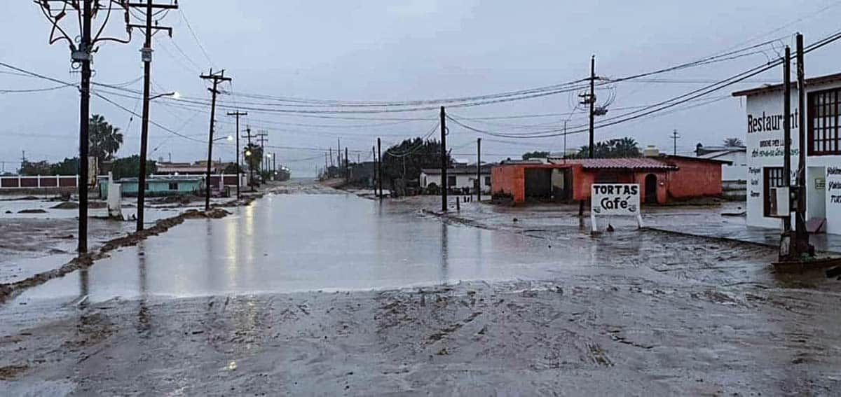 Baja rainy weather