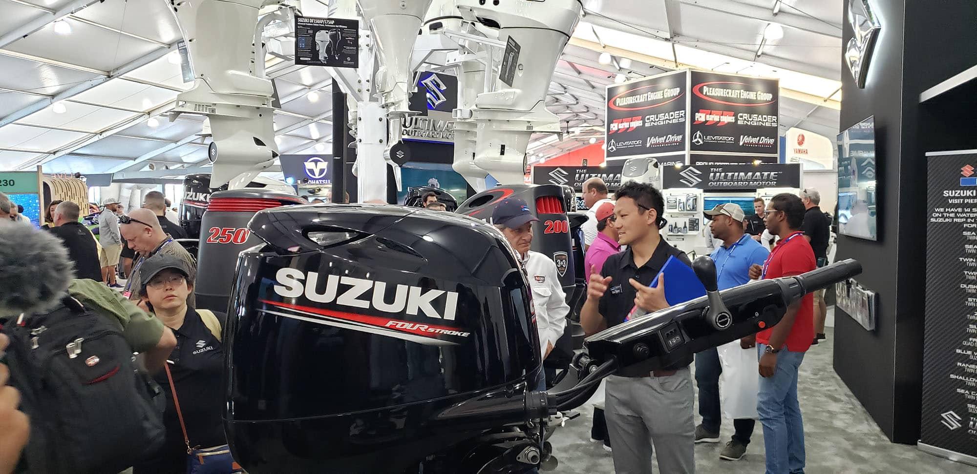 Suzuki Miami Boat Show