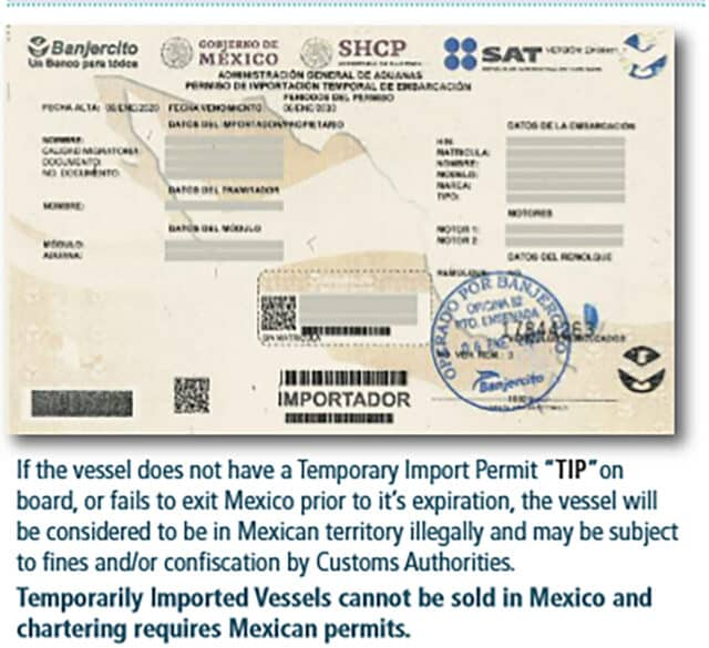 Mexico Travel information form