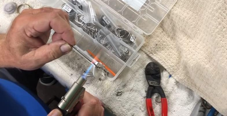 solder lure rings