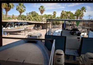 Loreto boatyard