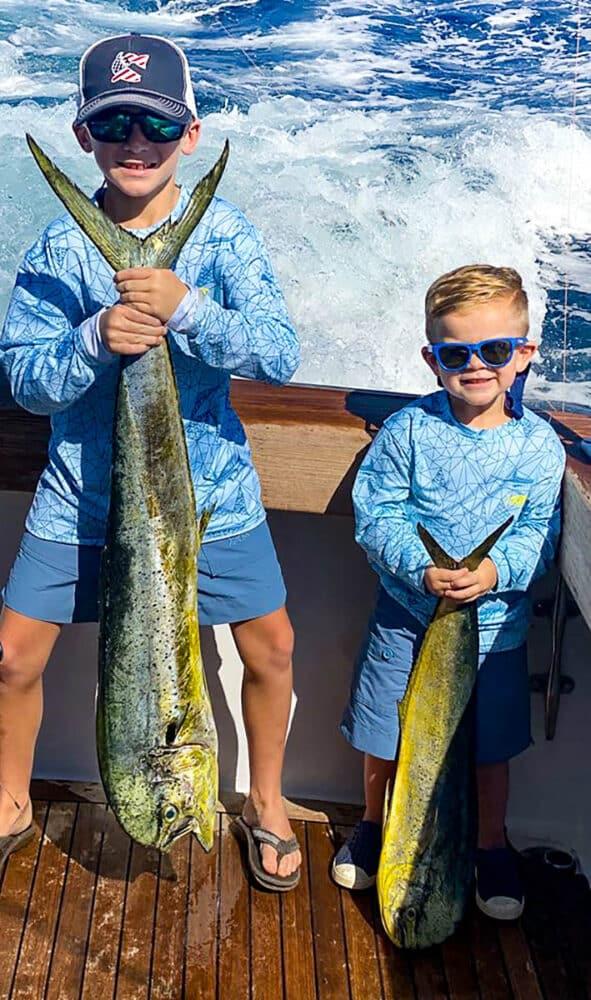 Guatemala kids fishing