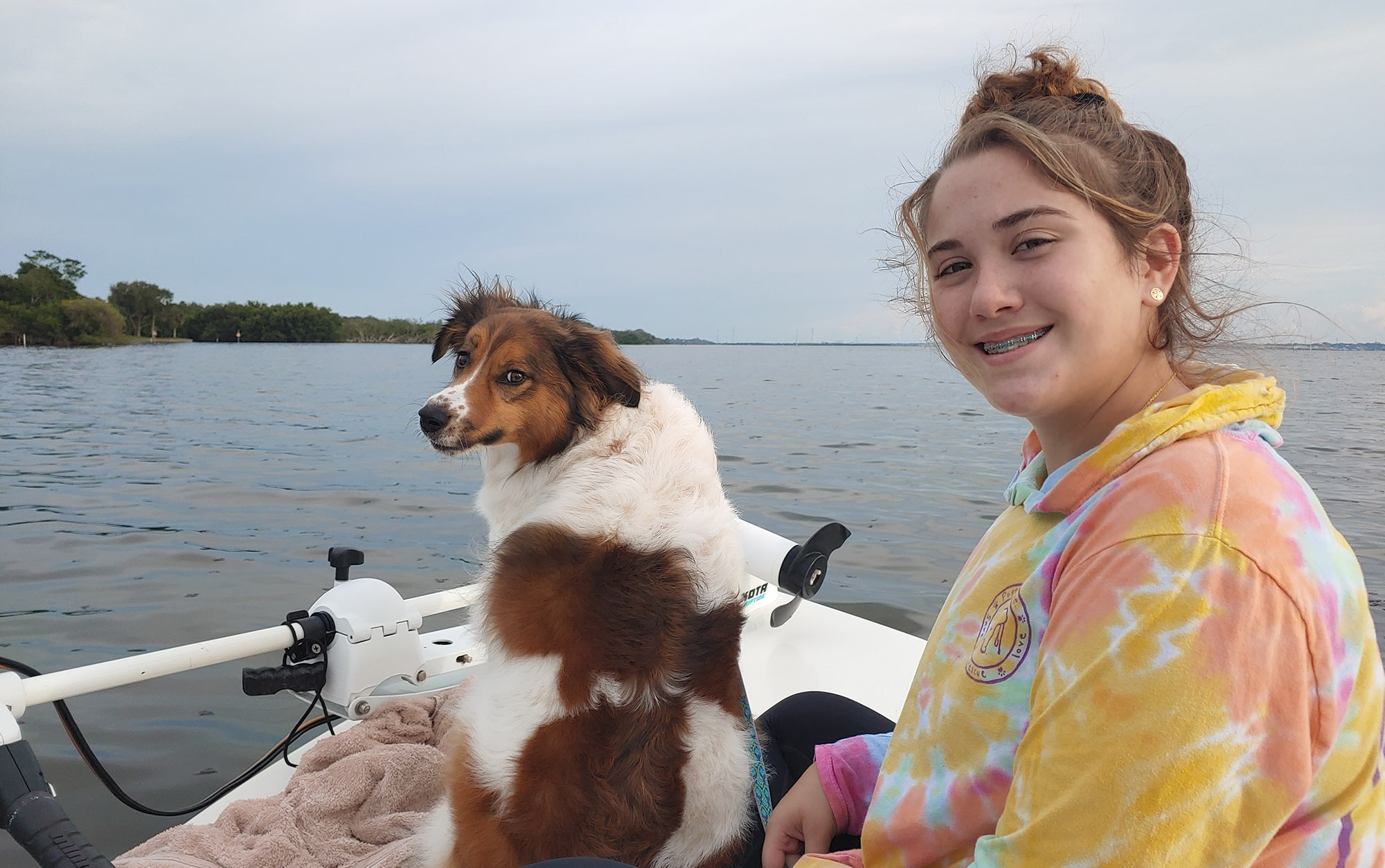 Family boating