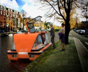 self driving boat