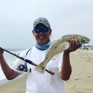corbina fishing