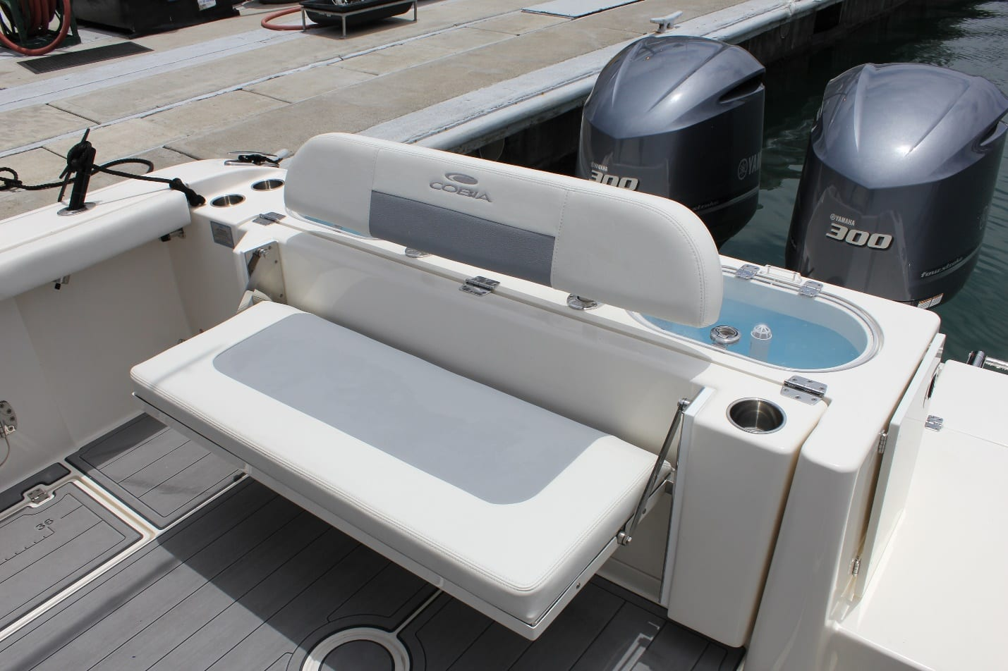 Cobia 301CC Rear Seating