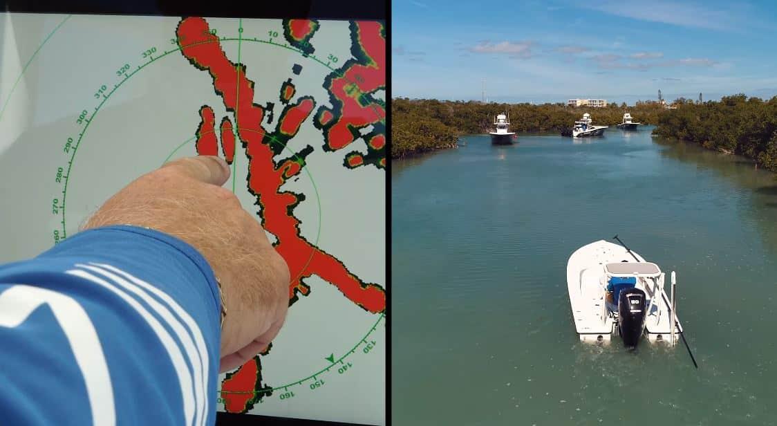 Furuno radar tests