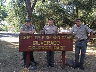 California fish hatcheries