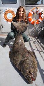 Astrid DeGruchy fishing