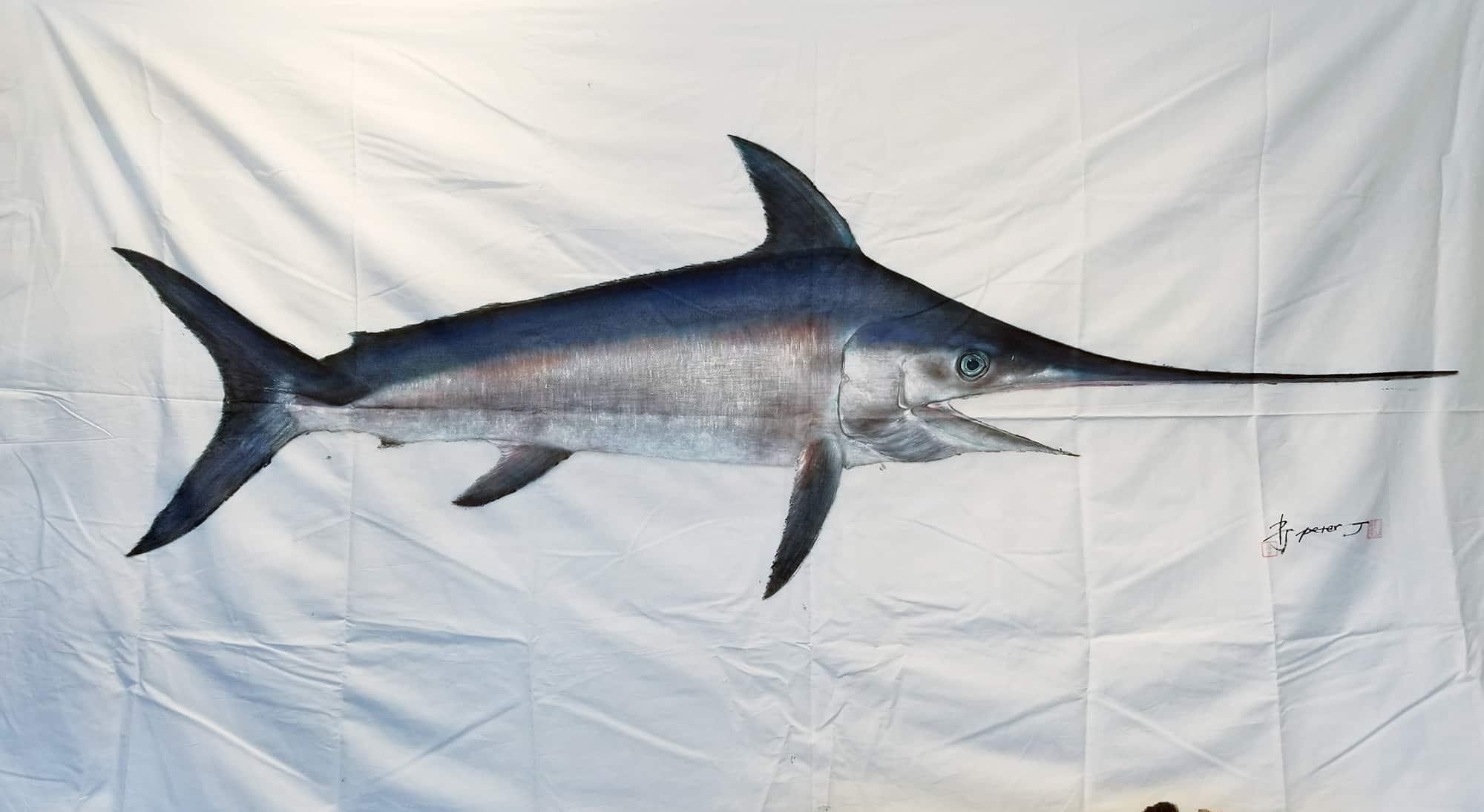 Peter J Art swordfish print