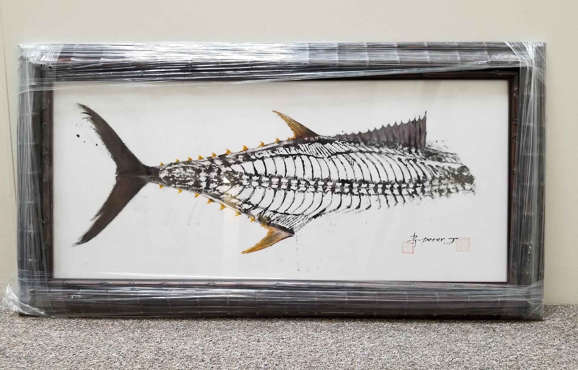 Peter J Art tuna print