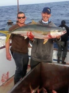 trophy yellowtail for SoCal