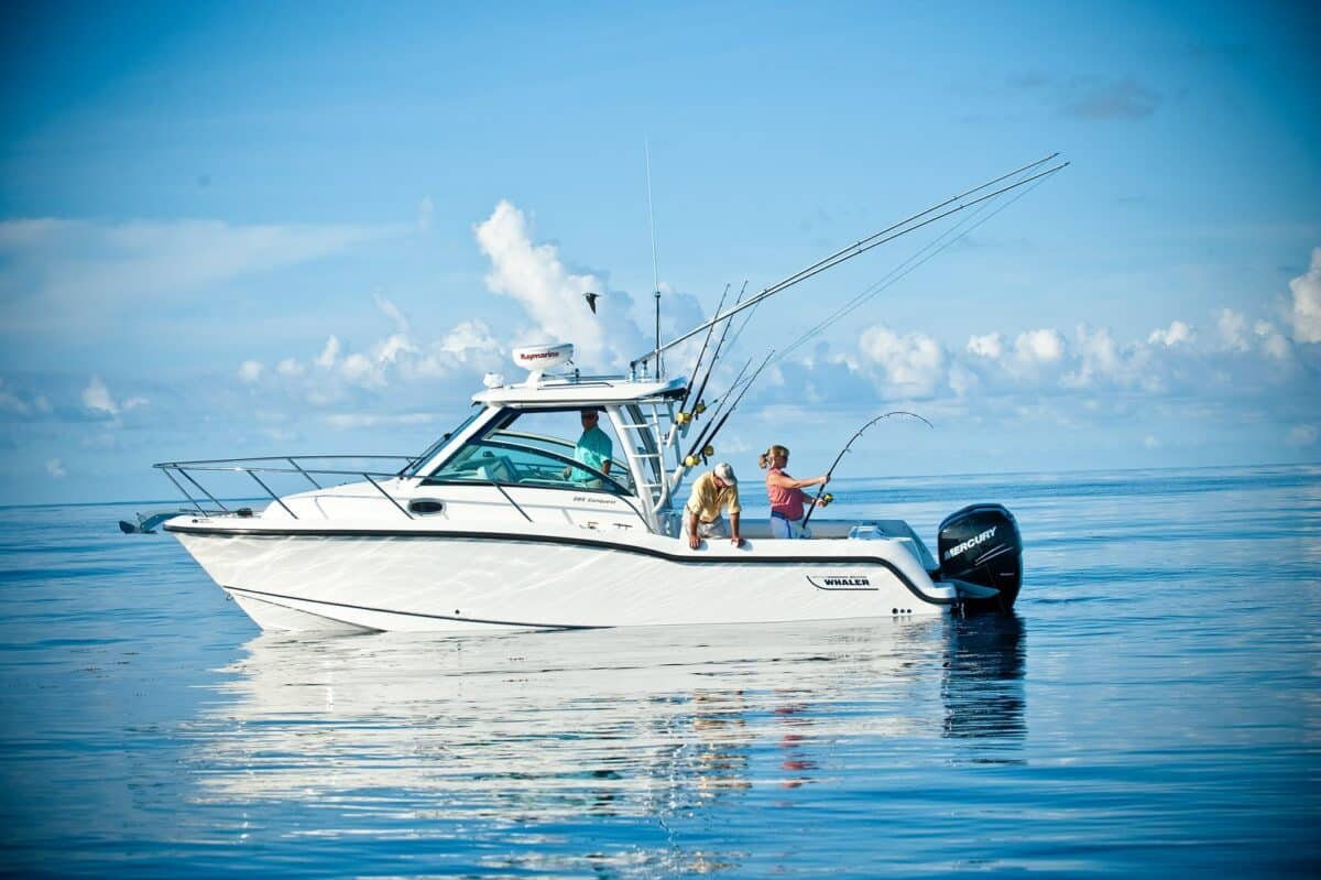 Boston Whaler 285 Conquest On Water Fishing