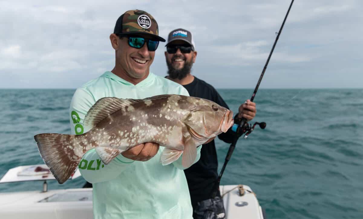 red grouper in Florida Keys