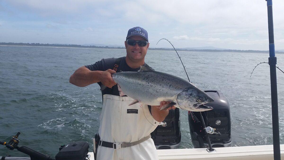 salmon fishing PNW
