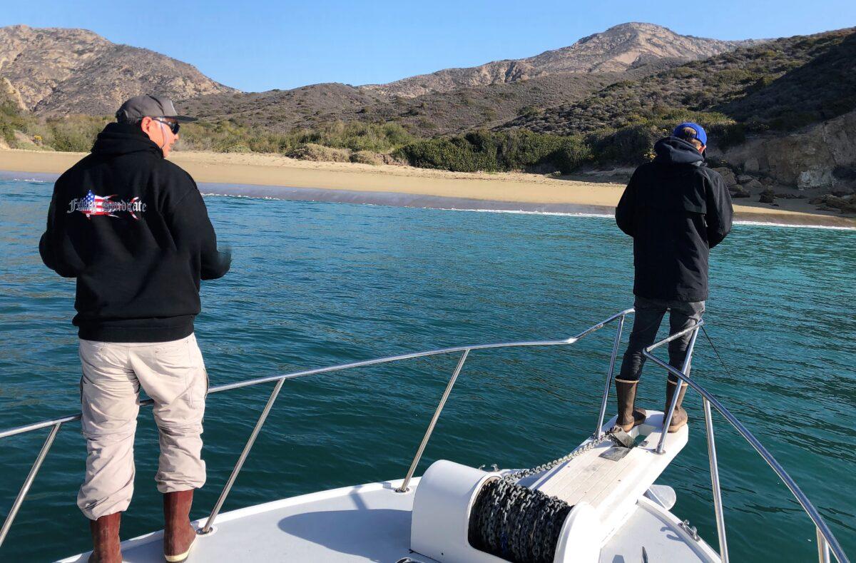 halibut fishing California