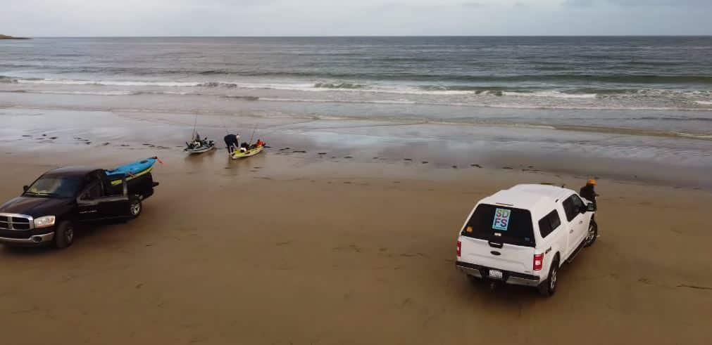 kayak fishing socal
