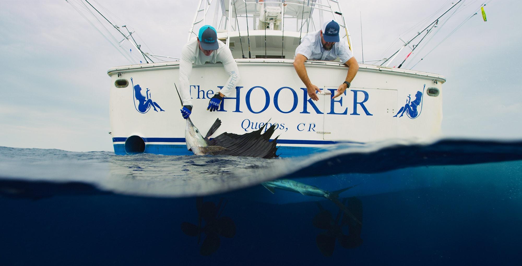 The hooker boat