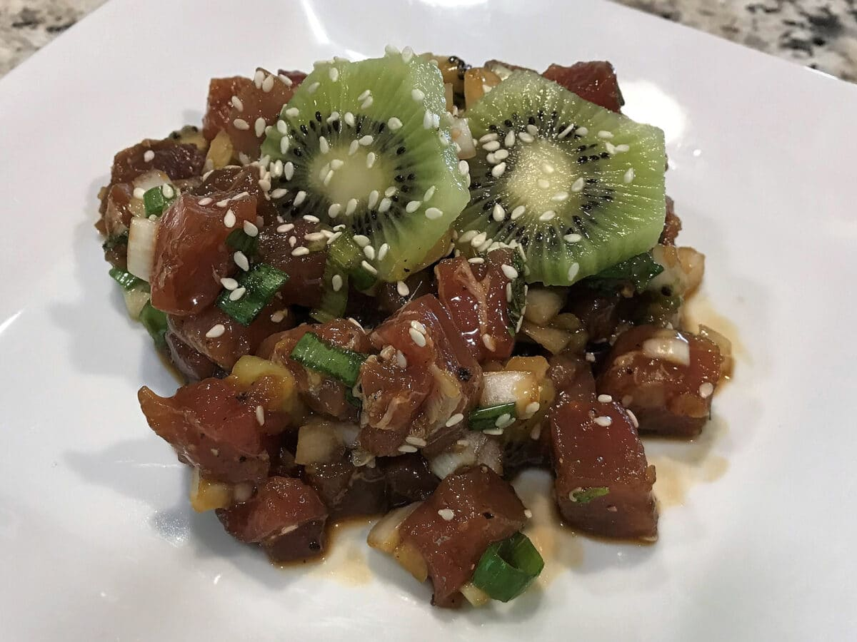 bluefin poke recipe