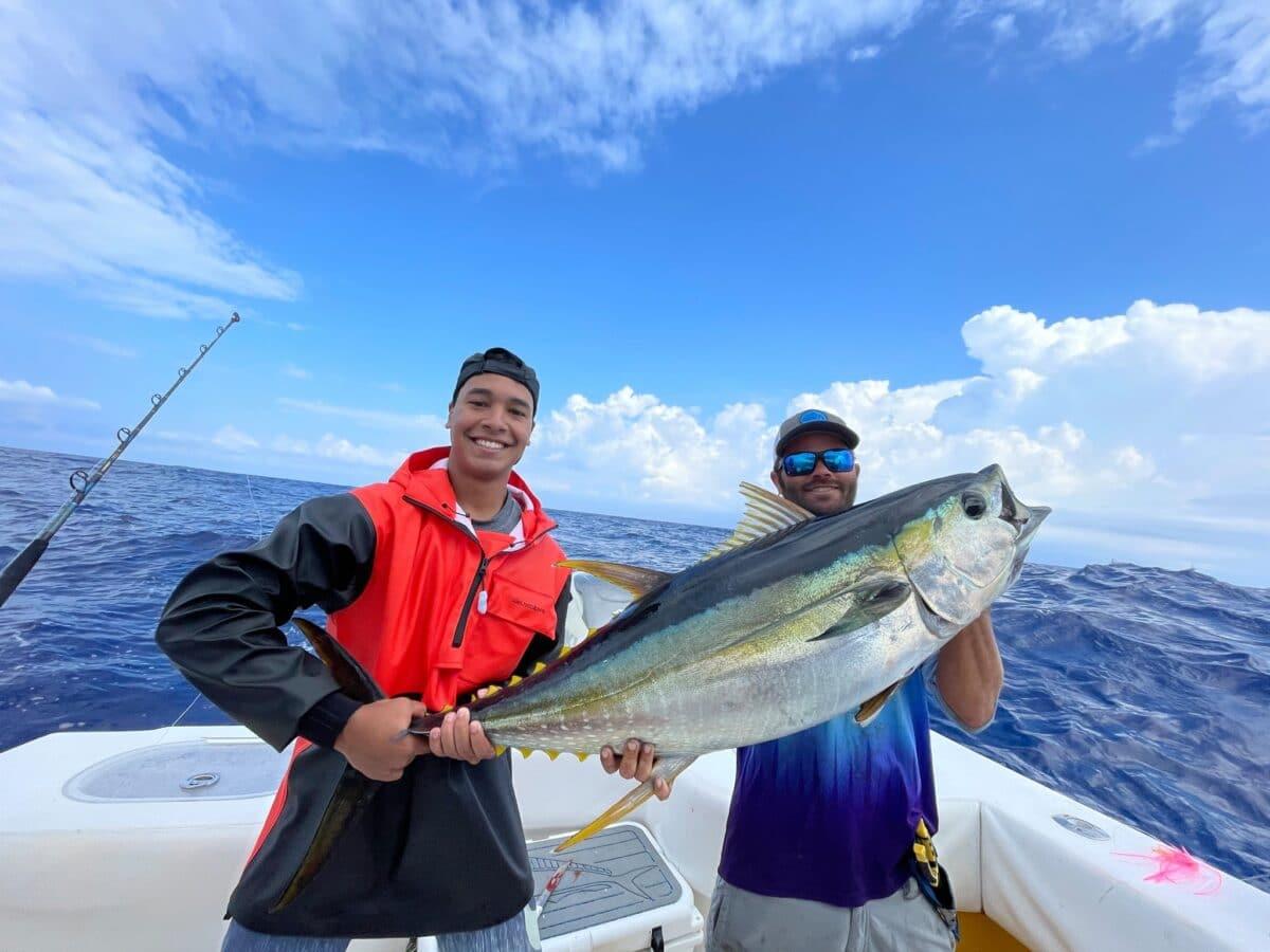 yellowfin tuna fishing tips