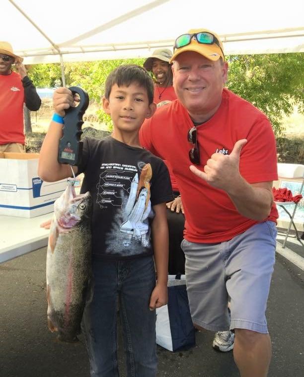 kids trout fishing derby Lake Cuyamaca