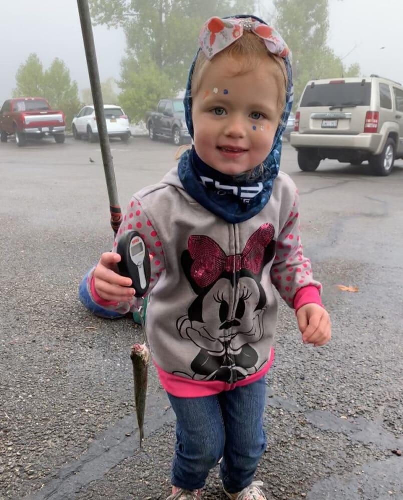 kids trout fishing derby